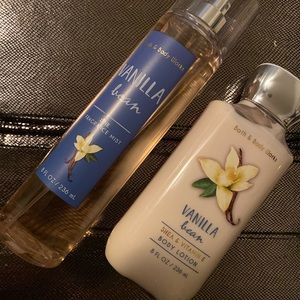 Bath and Body Works Vanilla Bean Lotion Spray NEW